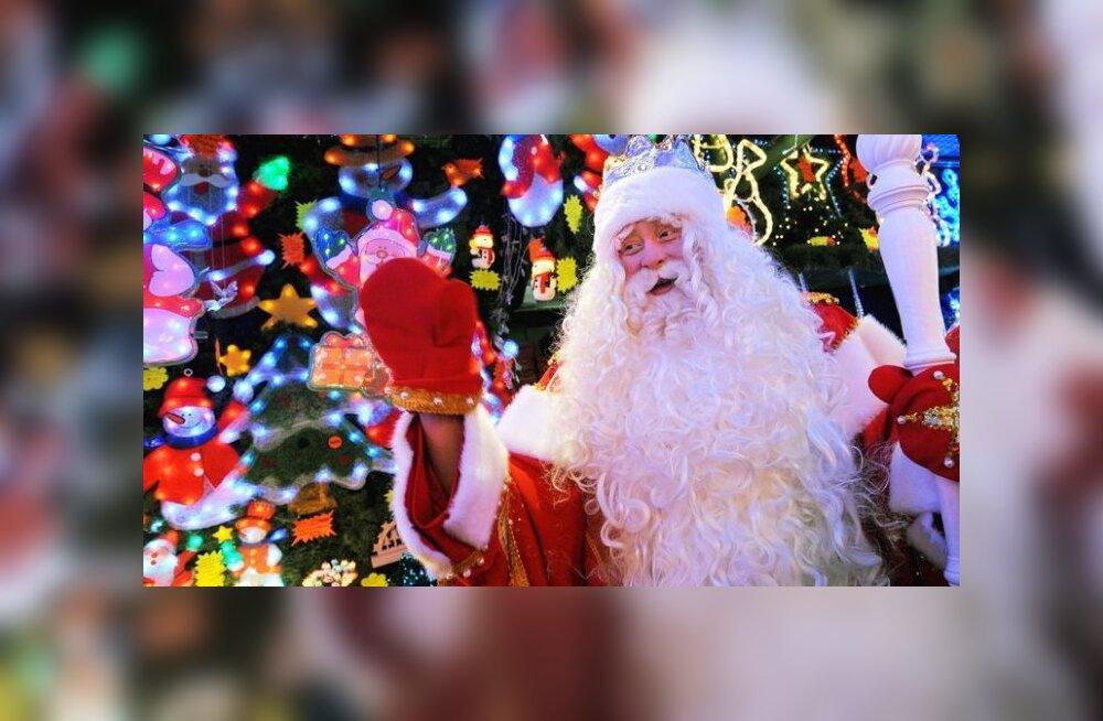 Jõuluvana: käed on tööd täis