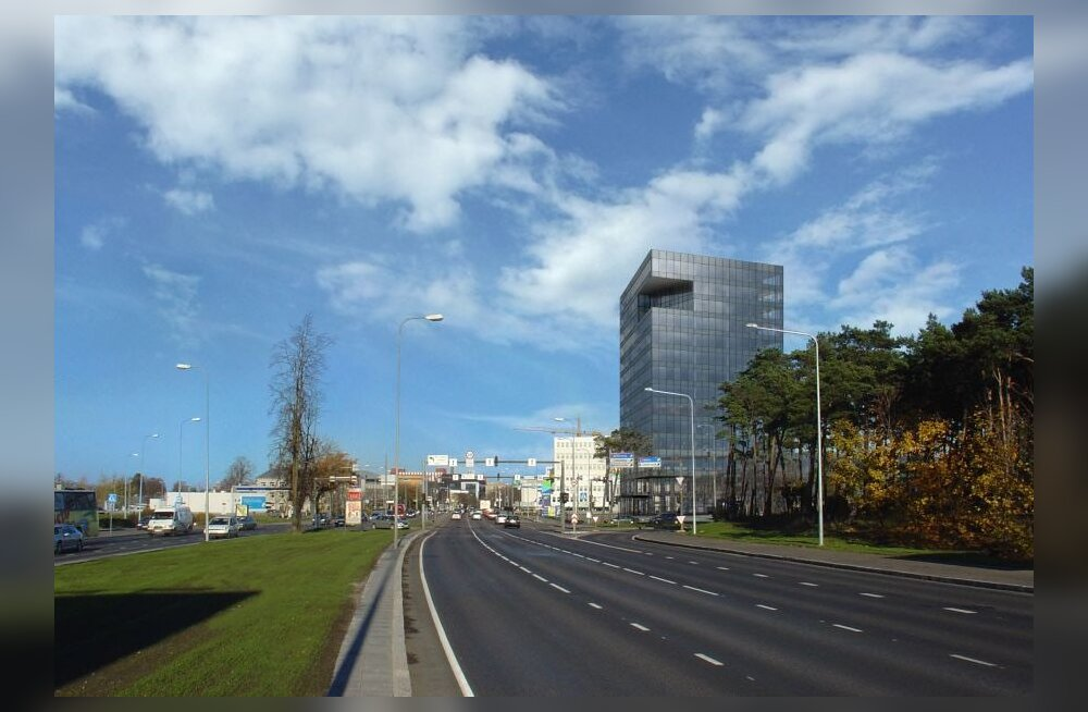 Pärnu maantee ja Tammsaare tee ristile kerkib Delta Plaza
