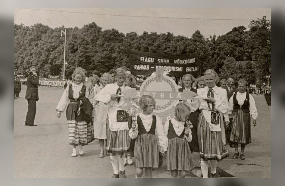 XIV üldlaulupidu 1955ndal aastal