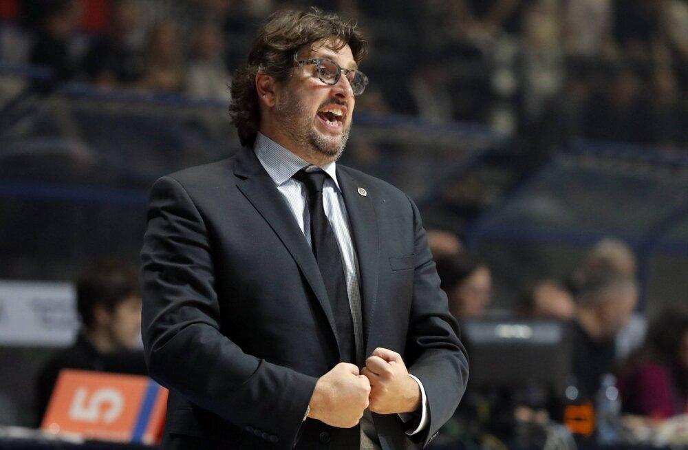 Läti korvpallikoondis saab itaallasest peatreeneri