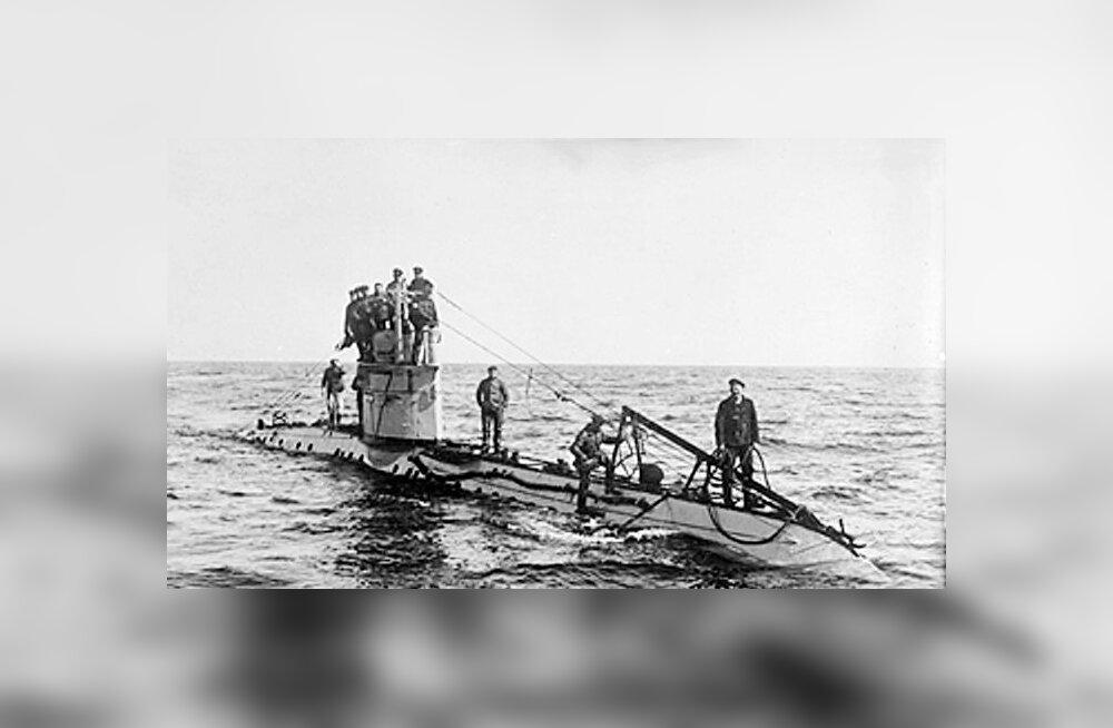 Kuidas liiga keeruline tualett Natsi-Saksa allveelaeva põhja ajas