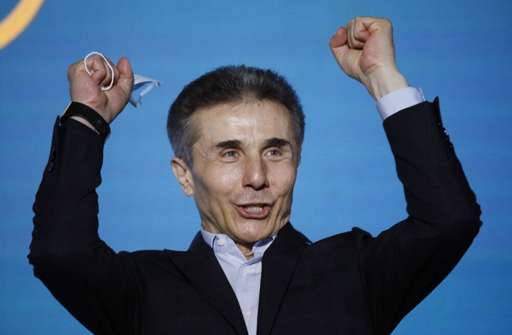 Gruusia miljardär ja valitseva erakonna esimees Bidzina Ivanišvili teatas poliitikast lahkumisest