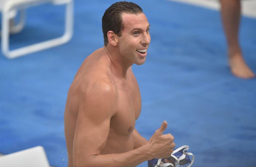 Kahekordne olümpiakuld Grant Hackett üritab pääsu Rio olümpiale