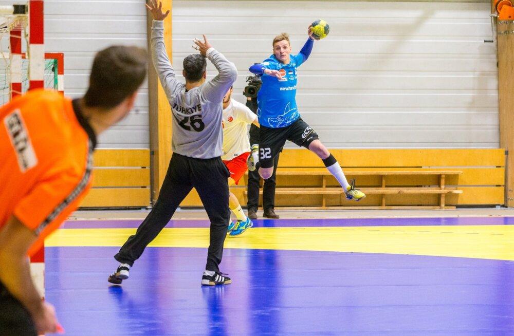 Eesti-Türgi käsipall 11.01.17