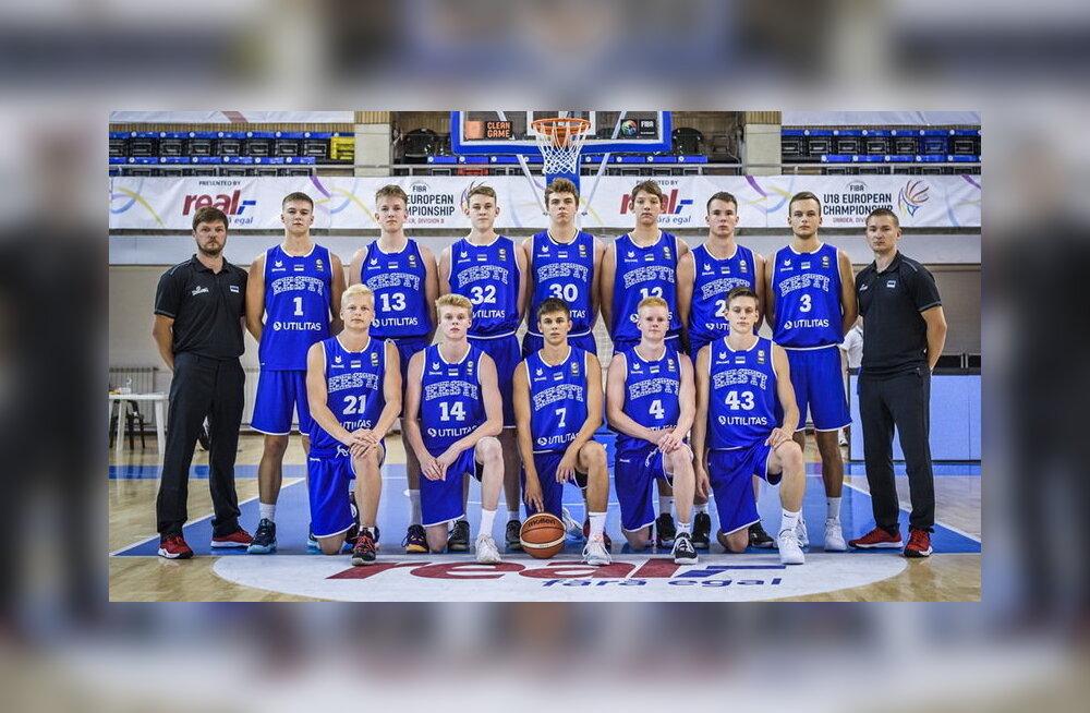 Eesti U18 korvpallikoondis