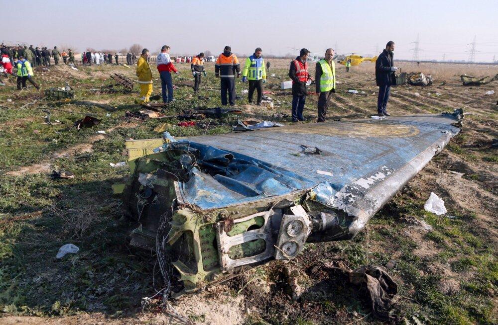 Ukraina lennukompanii Iraani ülestunnistusest: meil ei olnud põhjustes kahtlustki