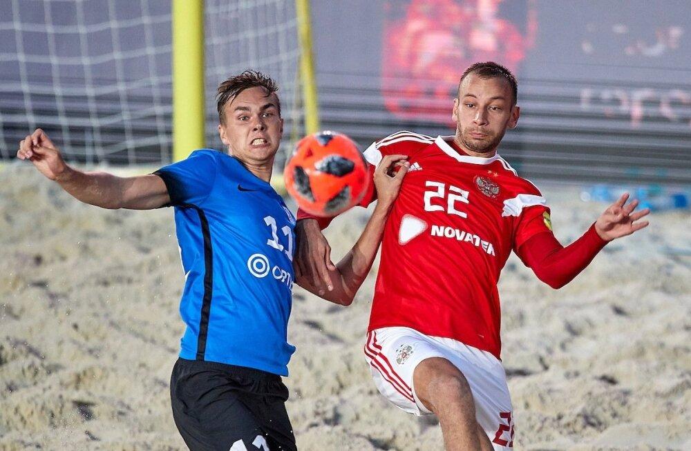 Rannajalgpall  - Eesti vs Venemaa