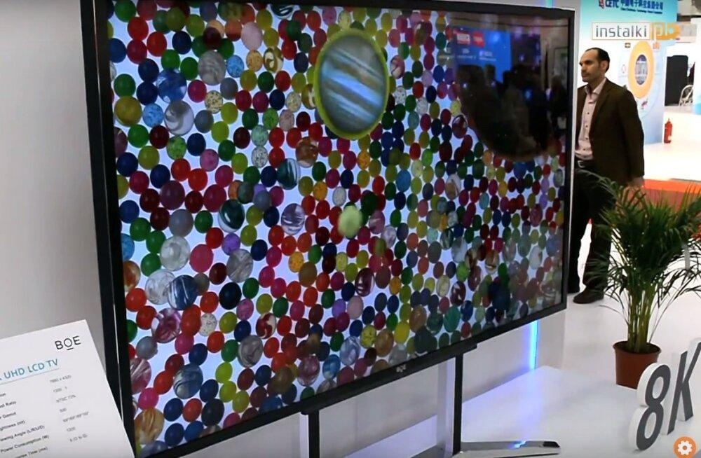 Moodne tehnika muutub ikka kergemaks? Maailma suurimaid 8K UHD ekraane üksi koju ei tassi!