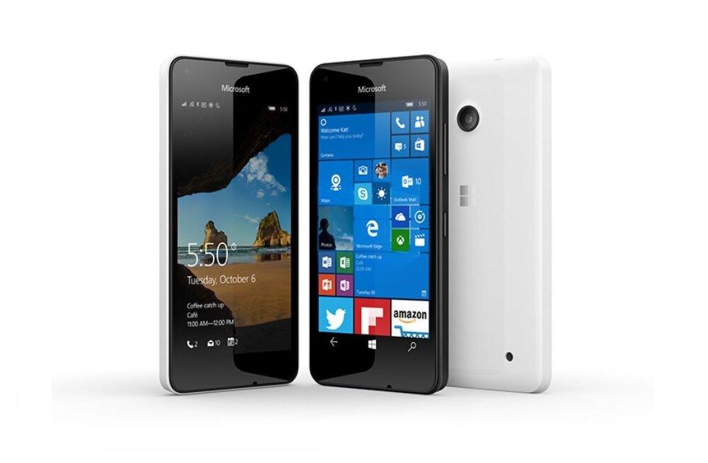 Kohe jõuab müügile esimene Windows 10 soodustelefon Lumia 550