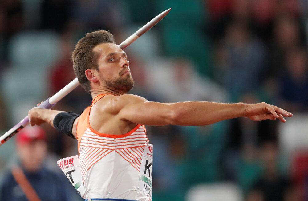 BLOGI | Doha MM-i peaproov: pikka odakaart näidanud Kirt saavutas teise koha, maailmameister Vetter ületas 90 meetri joone