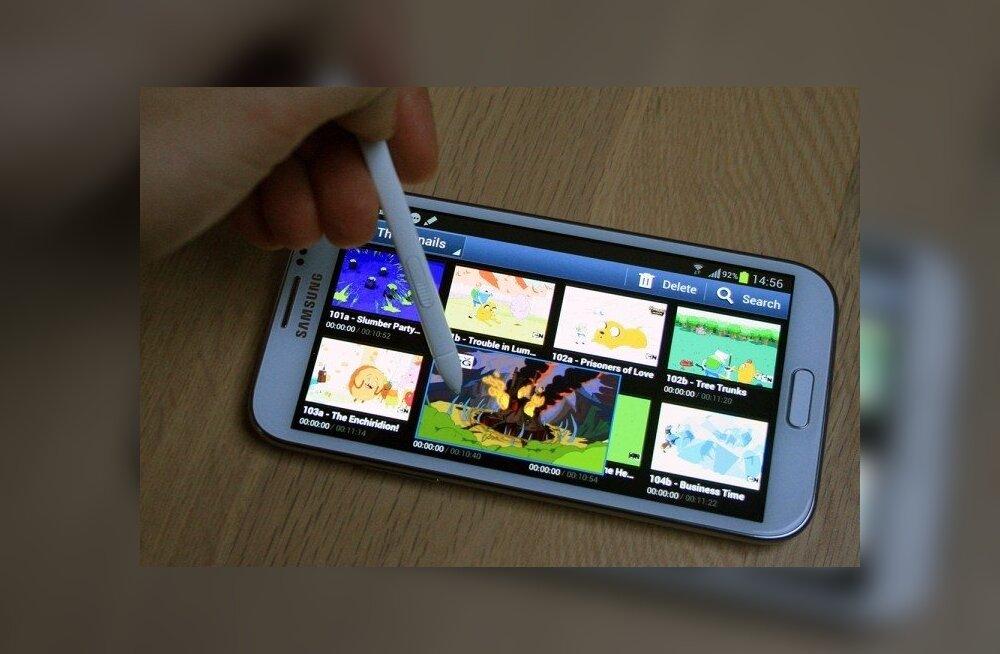 20f5affe4fa Arvustus: Samsung Galaxy Note II – tohutu ekraan ja kuhjaga jõudlust ...
