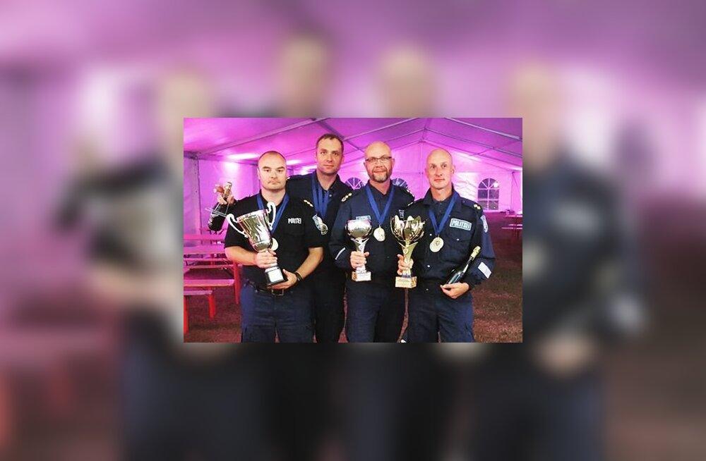 Politsei kutsemeisterlikkuse võistlused võitis Pärnu politseijaoskond