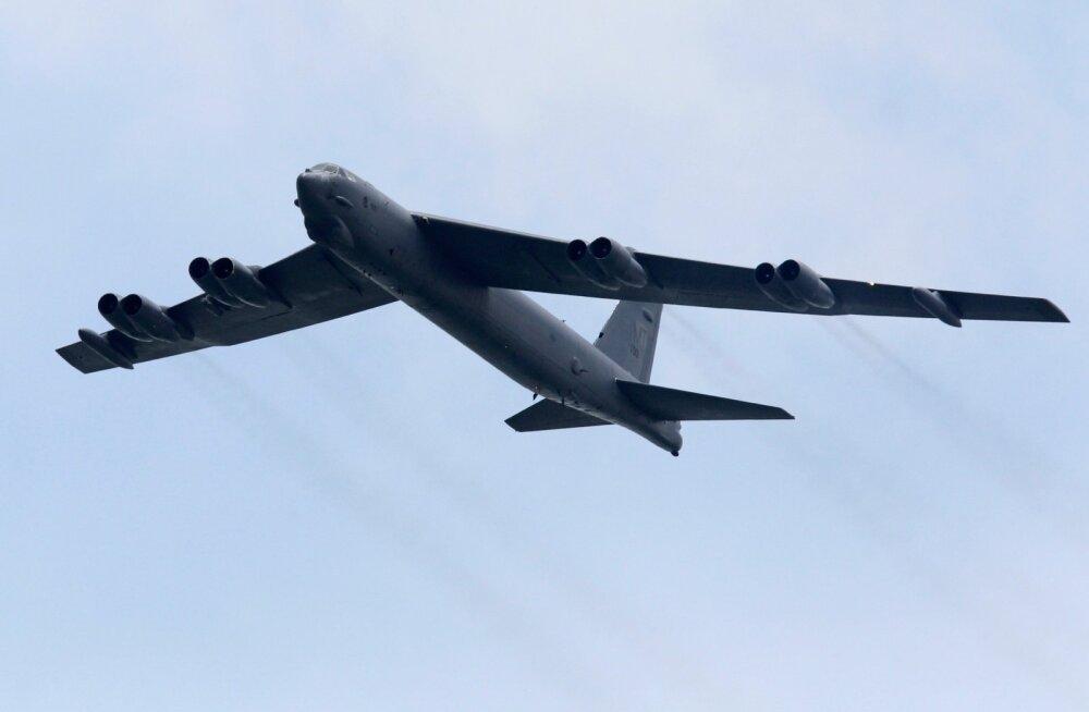 USA õhujõud saadavad Läänemere õppustele pommitajad B-52