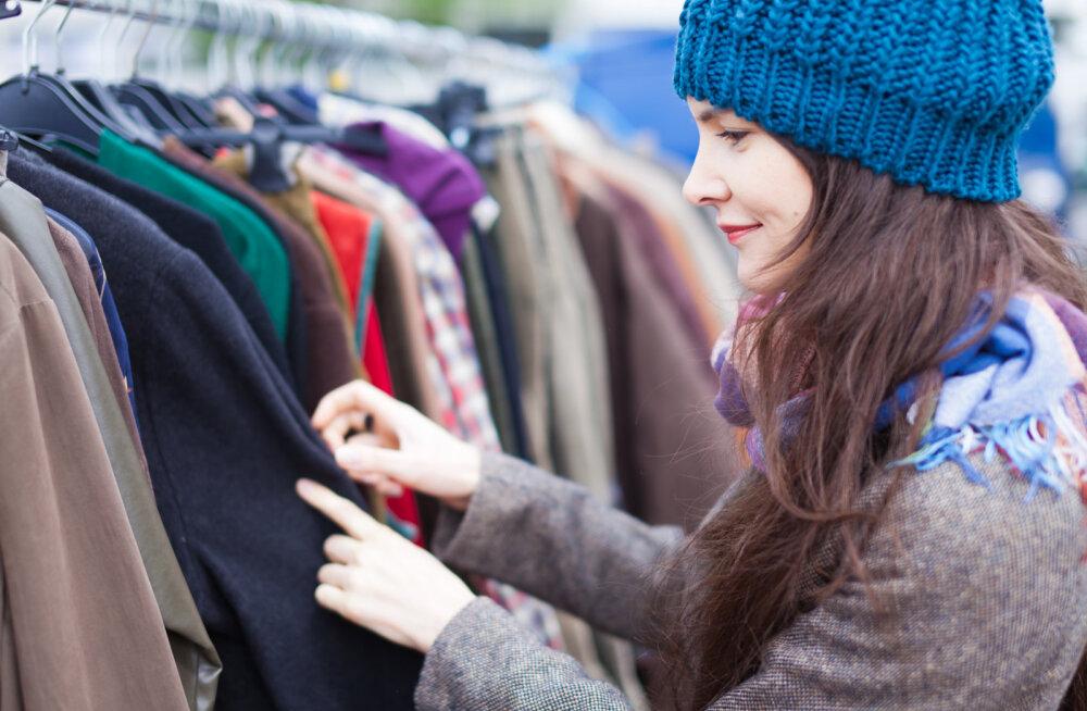 Leia üles parimast parim! 5 head nõuannet kasutatud riiete soetamiseks