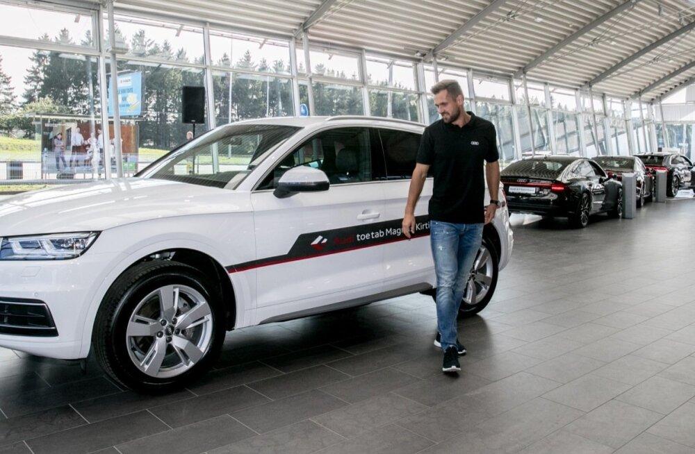 Magnus Kirt sai uue auto