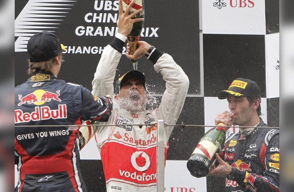 Võidukas Lewis Hamilton