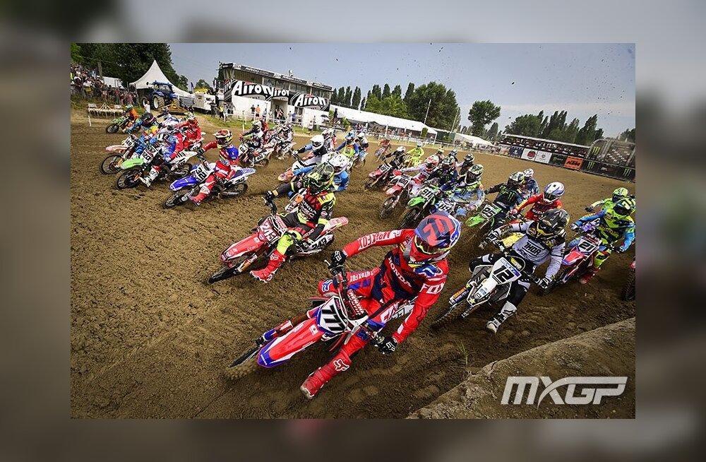 Kõik eestlased korjasid Itaalia motokrossi MM-etapilt punkte