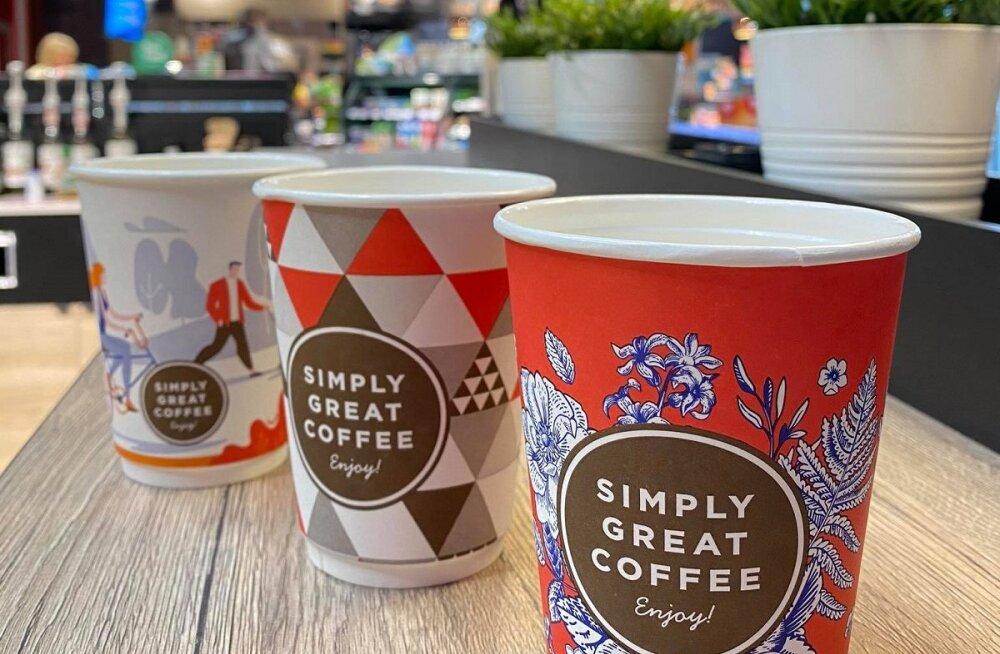 Исследование: где жителям Эстонии больше всего нравится покупать кофе навынос?