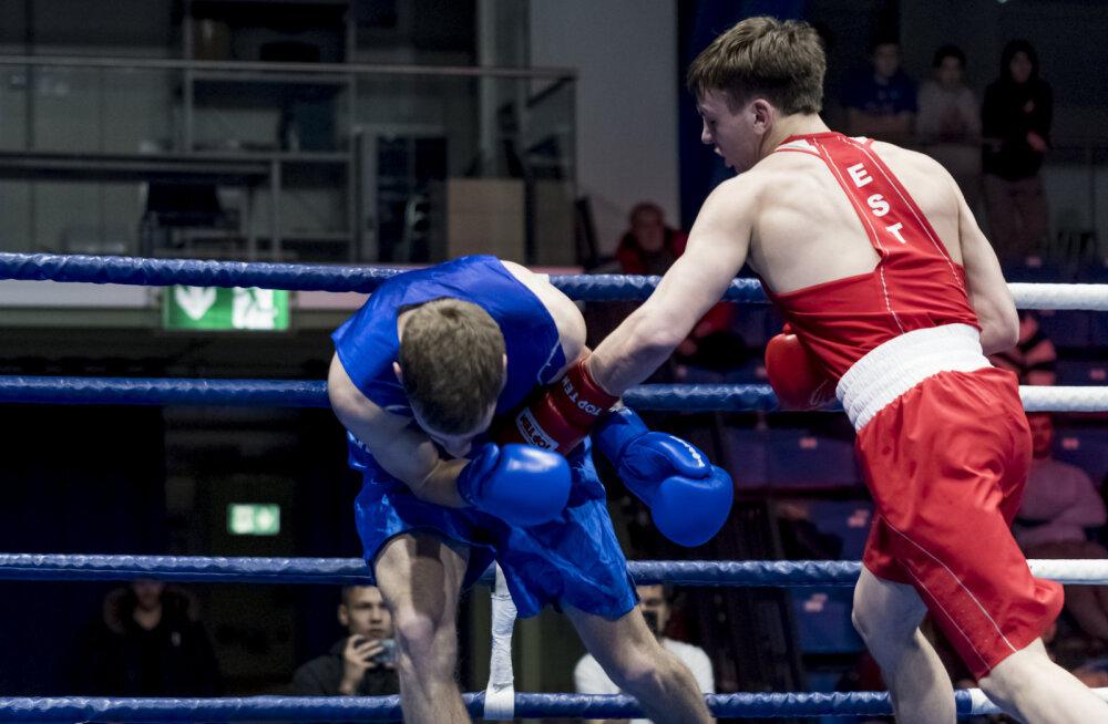 Noor poksitalent läbis karmi proovikivi, ässad sammusid finaali ülivõimsalt