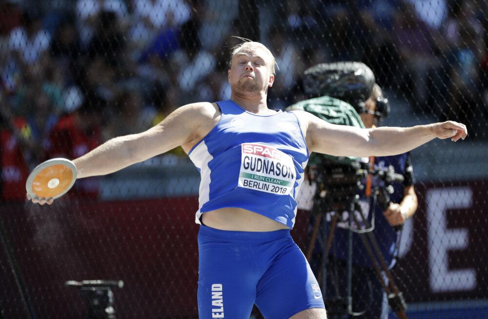 VIDEO | Pea nelja meetri jagu isiklikku rekordit parandanud Islandi kettaheitja purustas Kanteri endise treeneri nimel olnud rahvusrekordi