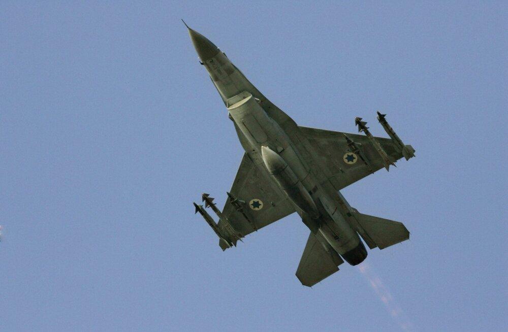 Iisrael teatas Süüria õhutõrjepatarei ründamisest vastuseks tulele