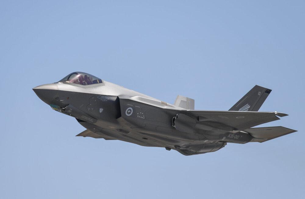 USA peatas hävitajatega F-35 seotud varustuse tarnimise Türgile, sest viimane ostab Vene õhutõrjesüsteemi S-400