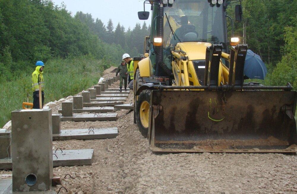 Госконтроль — о строительстве восточной границы: стоимость в 320 млн евро могла быть завышена, альтернативы не были рассмотрены