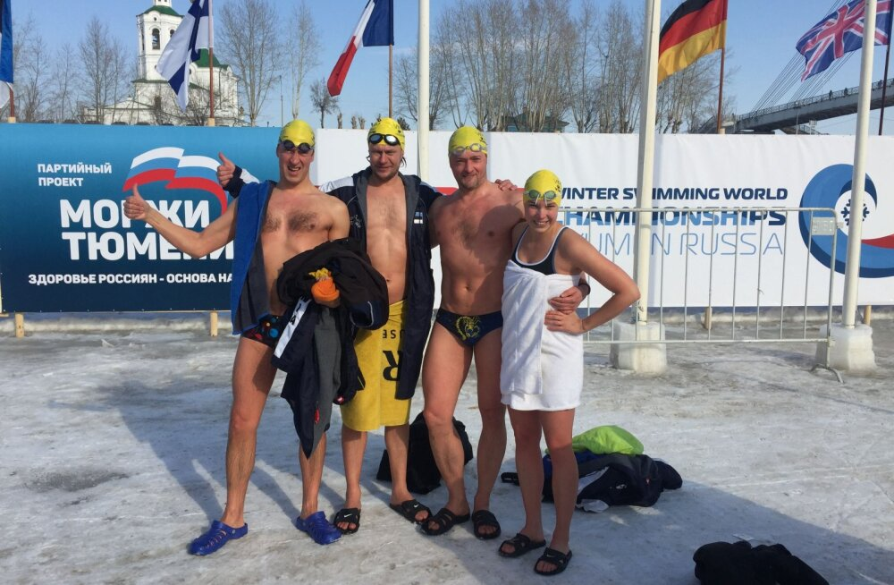 VÕIMAS SAAK: Eestlased võitsid taliujumise MM-ilt 42 medalit