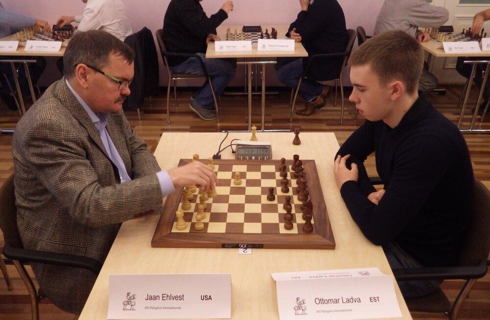 Eelmise aasta turniiril mängisid Jaan Ehlvest ja Ottomar Ladva viiki