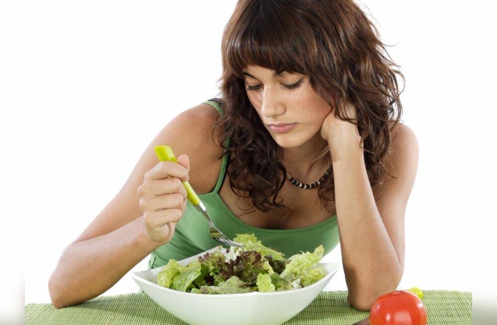 Kõige suuremad vead dieedipidamisel