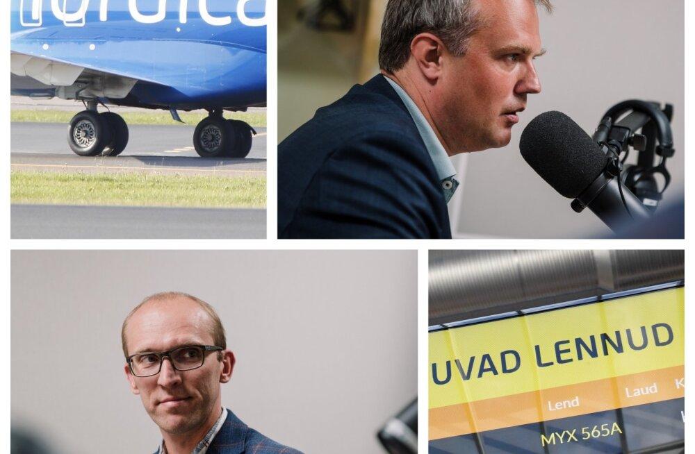 Toomas Tiivel ja Eero Pärgmäe Nordicast ja lennundusest