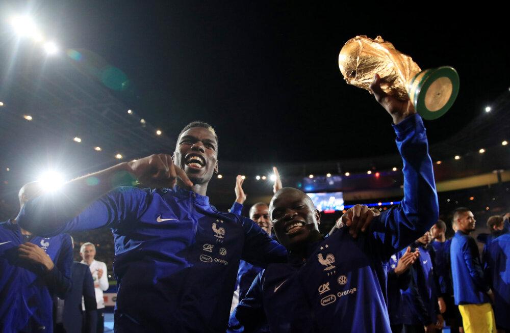 VIDEO | Ilusad hetked: Stade de France laulis üheskoos Prantsuse koondise kõige tagasihoidlikumale mängijale ülistuslaulu