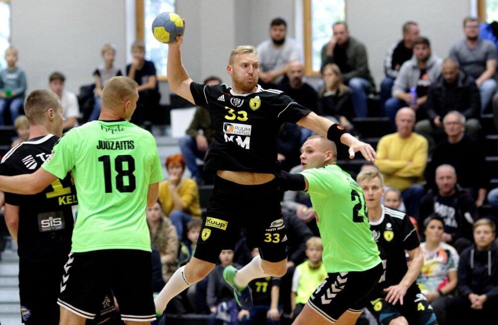 Võideldes kaotanud HC Tallinn pudenes eurosarjast