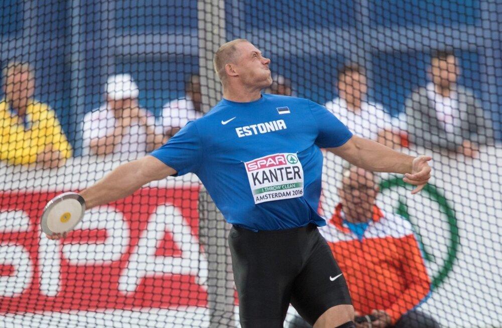 Gerd Kanteri lõppvõistlus Amsterdamis
