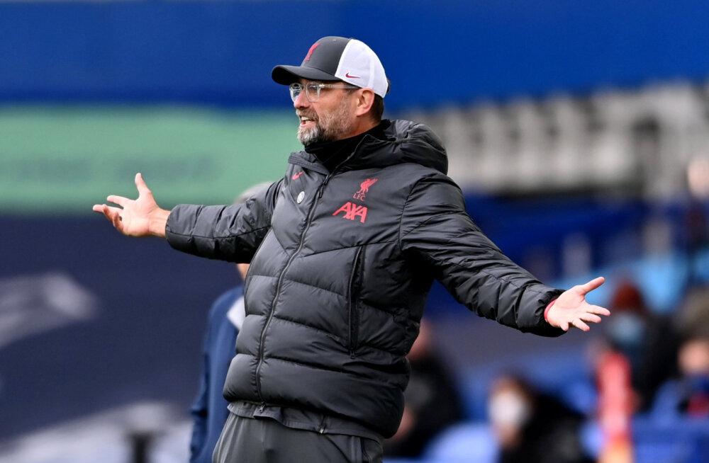 Liverpool tahab Premier League'ilt teada, miks Evertoni väravavaht punast ei saanud ja milline Mane kehaosa suluseisus oli