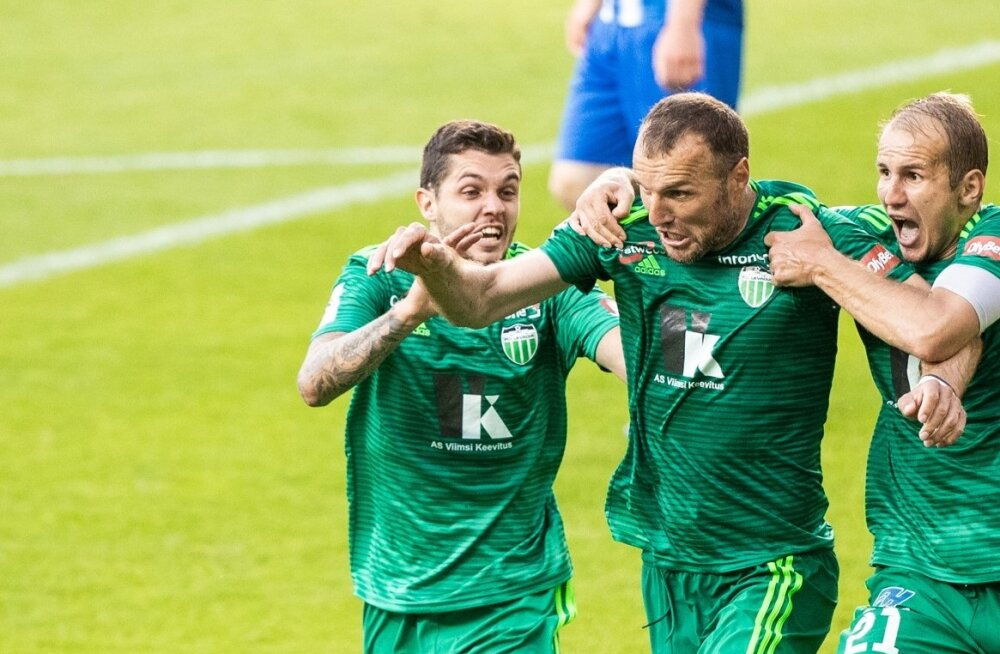 Euroopa liiga. FC Levadia - Stjarnan