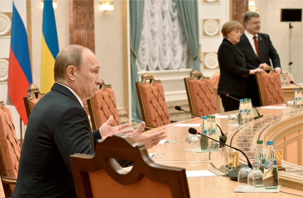 Ukraina ja Saksa välisministeeriumide teatel on Minski läbirääkimised rasked