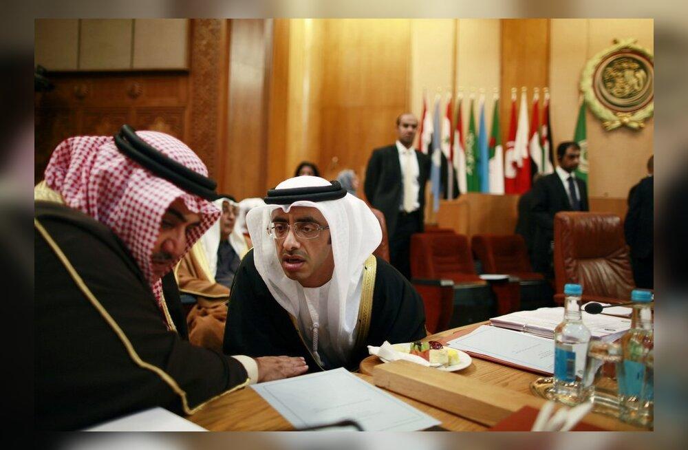 Araabia riigid sulgesid saatkonnad Süürias