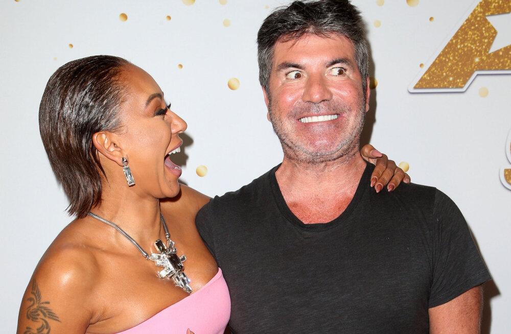 Simon Cowell ja Mel B sattusid eriti koledasse skandaali: ta on väga kahtlustav