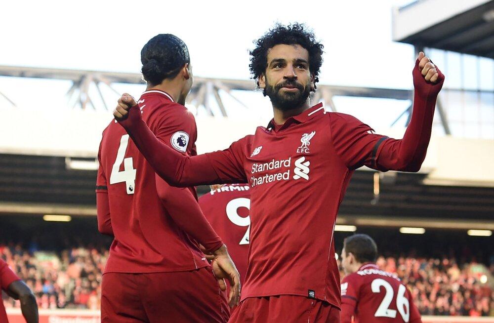 Liverpool unustas närvilisuse ja võttis kodus kindla võidu, Arsenal samuti võidukas