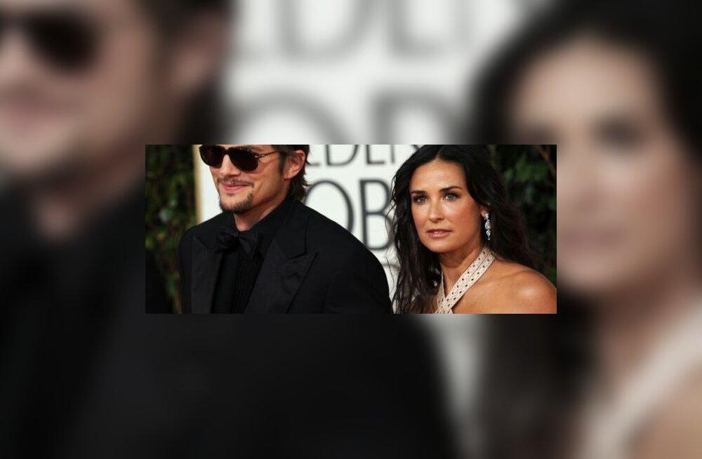 Ashton Kutcher ja Demi Moore