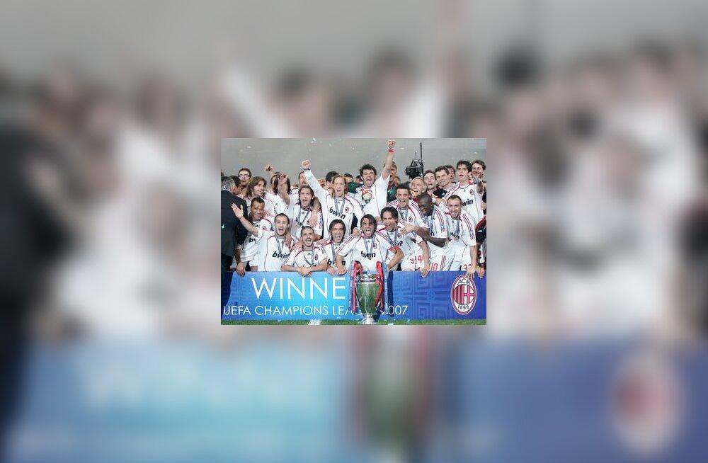 Euroopa meistermeeskond AC Milan