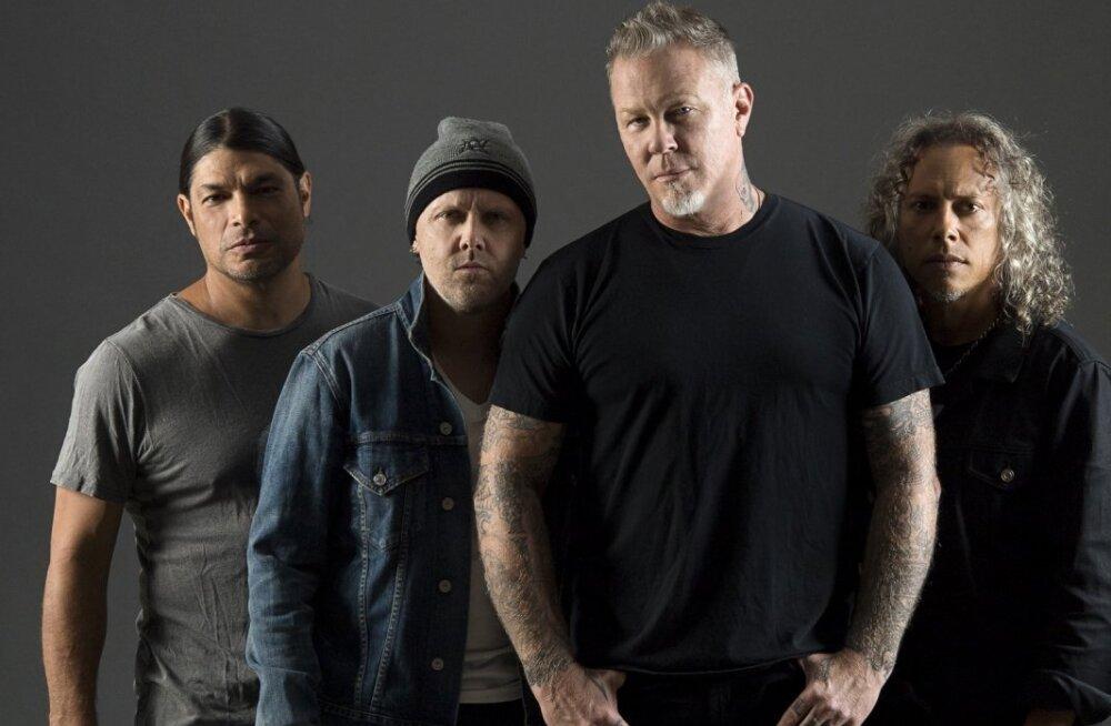 Невероятно! Билеты на тартуский концерт Metallica за 2200 евро раскупили в первый же день