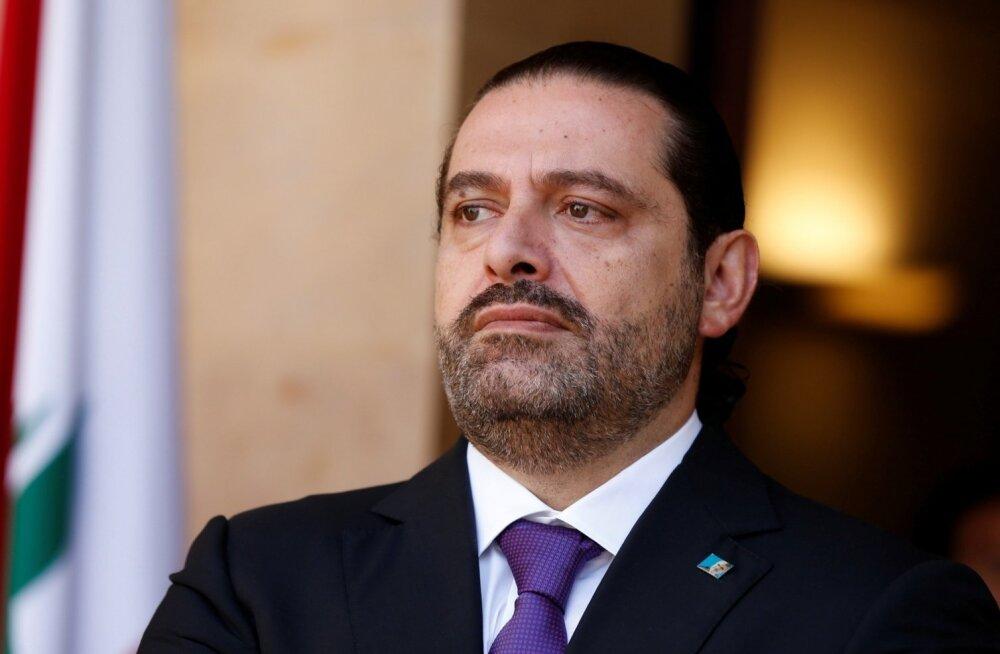 Pariisi teatel võttis Liibanoni Saudi Araabias viibiv peaminister vastu kutse Prantsusmaale tulla