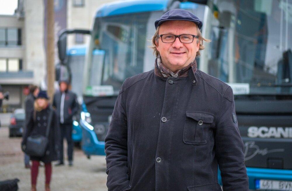 GoBusi uute busside tutvustus
