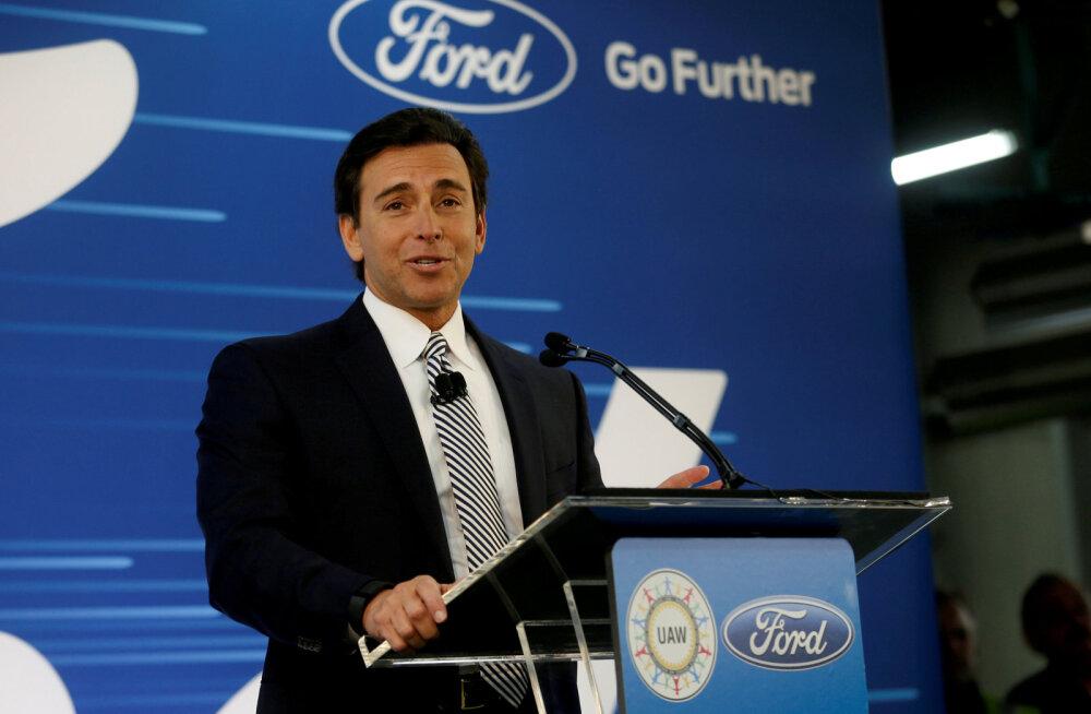 Ford andis tegevjuhile kinga