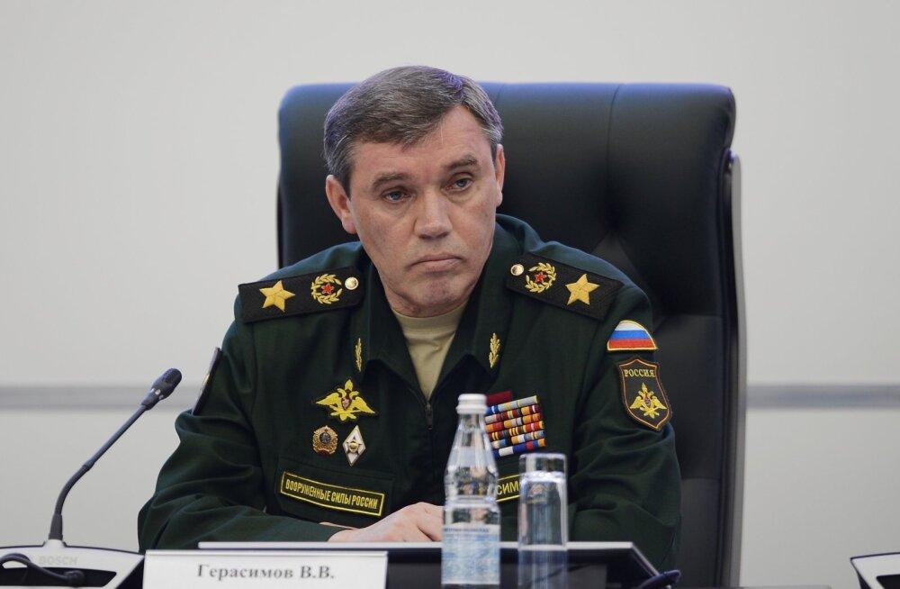 Ukraina kuulutas Vene kindralstaabi ülema ja veel 10 Vene sõjaväelast rahvusvaheliselt tagaotsitavaks