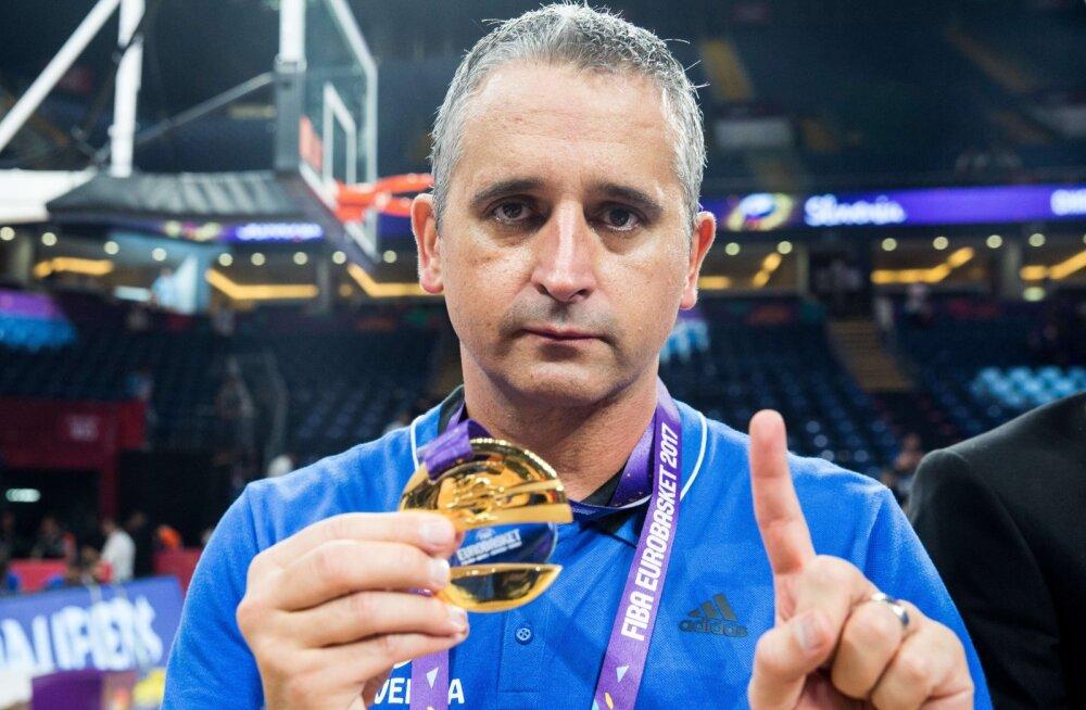 Igor Kokoškov viis Sloveenia EM-tiitlini