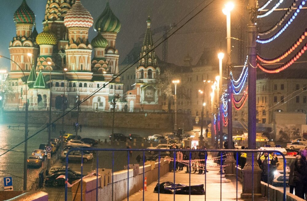 Moskvas tapeti Boriss Nemtsov