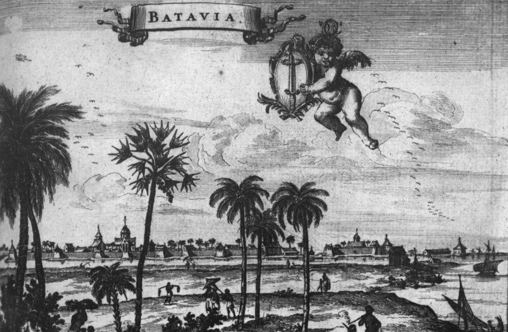Hollandi Ida-India kompanii aktsionärid panid kaubavahetuse ja koloniseerimise riskide ja kasumi jagamiseks aktsiaid ostes kapitali kokku. See kompanii asutas Bataavia ehk tänapäeva Indoneesia riigi Jakarta linna.